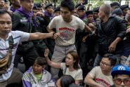 IMAGE: Anniversary of Thai Coup Draws Uneasy Protest and Police Threats