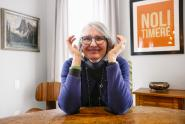 IMAGES: An Affable Canadian Author With a Penchant for Murder