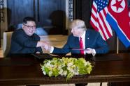 IMAGE: North Korea Film Glorifies Kim's World Debut, With Trump in Starring Role