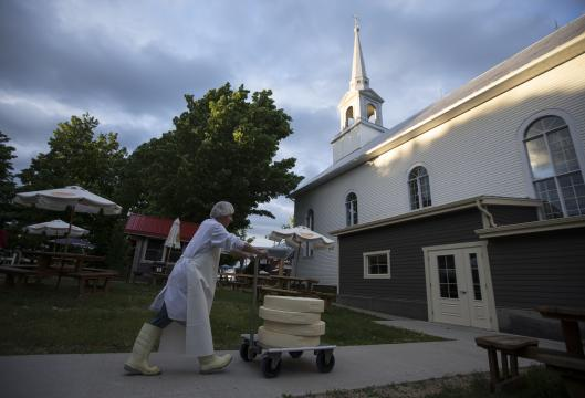 Where Churches Have Become Temples of Cheese, Fitness and Eroticism