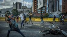 IMAGES: Venezuela Is in Crisis but Its President Might Be Stronger for It