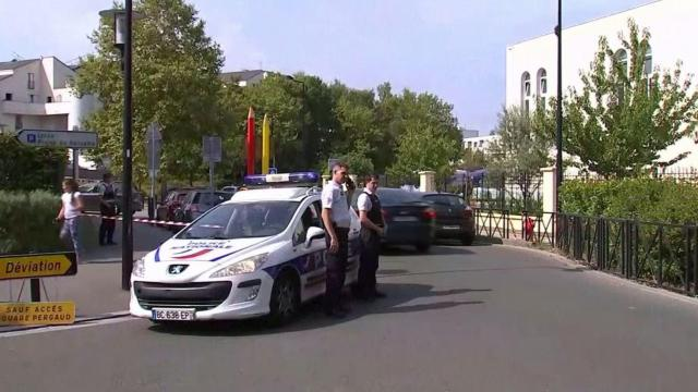 Knife attack near Paris leaves two dead, one injured