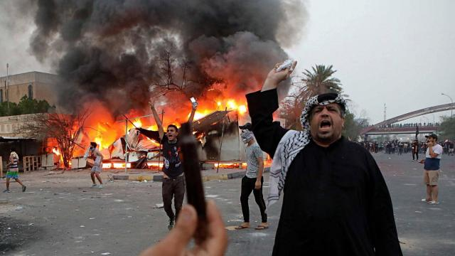 Iraq: Protests continue in Basra in third night of clashes with security forces