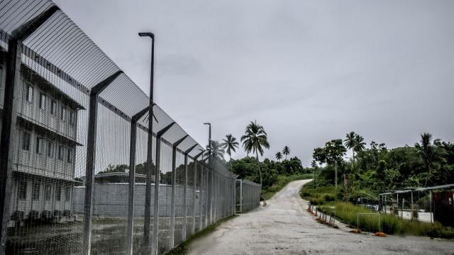 FILE -- An offshore detention center the Australian government once operated to house asylum-seekers, on Manus Island in Papua New Guinea, Nov. 18, 2016. Australia has expanded the power of its immigration ministers for decades. Now, a scandal involving two European au pairs threatens Peter Dutton, the country's top immigration official. (Ashley Gilbertson/The New York Times)