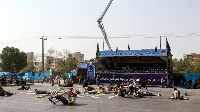 29 killed in attack on Iranian military parade