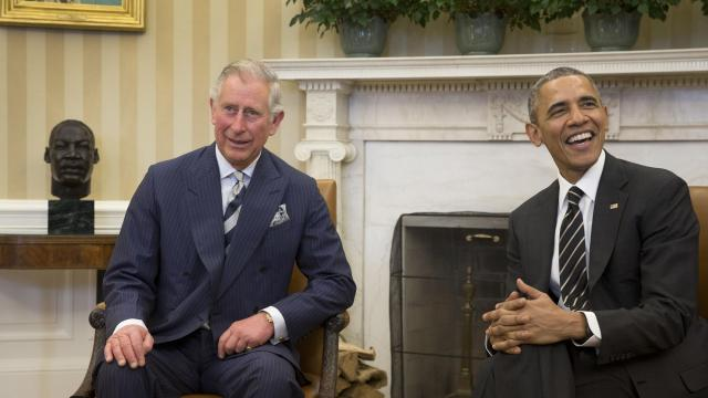 """FILE -- President Barack Obama meets with Prince Charles at the White House in Washington, March 19, 2015. Speaking in a BBC documentary, the heir to the British throne said it was """"complete nonsense"""" to think he would continue his activism on subjects such as climate change. (Stephen Crowley/The New York Times)."""
