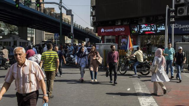 FILE —Pedestrians in Tehran, Iran, July 4, 2017. Anxieties over the availability of medicine are mounting in Iran with the reimposition this month of sanctions by the United States after President Donald Trump withdrew from the nuclear deal. (Arash Khamooshi/The New York Times)