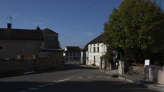 The rural village of Saint-Seine-sur-Vigeannes, France, Oct. 15, 2018. More than 150 rural mayors have left this year, saying they feel abandoned by the state in the face of shrinking revenues, declining populations and reforms initiated by President Emmanuel Macron. (Pierre Terdjman/The New York Times)