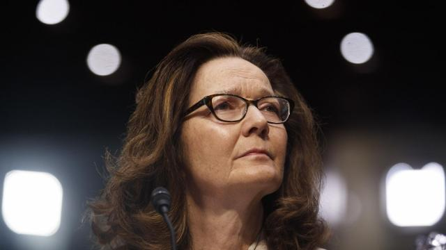 FILE -- Gina Haspel, now the CIA director, testifies before the Senate Intelligence Committee on Capitol Hill in Washington, May 9, 2018. A Saudi operative's comments to a royal aide after the killing of the journalist Jamal Khashoggi is among the strongest evidence yet tying Crown Prince Mohammed bin Salman to his death. The call was part of a recording that Turkish officials played for Haspel during her visit in October to Ankara, Turkey. (Tom Brenner/The New York Times)