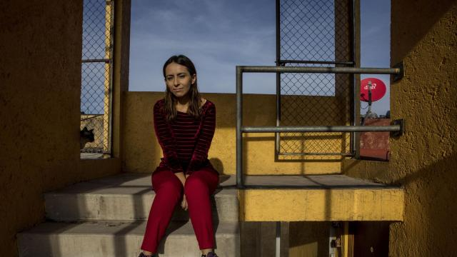 Denisse Aribel García, 29, who was 13 when her father, Daniel García was arrested, in Atizapán de Zaragoza outside Mexico City, Oct. 13, 2018. Daniel García has been held in prison for more than 16 years without a verdict. The case of García, who is charged with murder, exemplifies many flaws of Mexico's old justice system. An overhaul of the system has helped others — but not him. (Adriana Zehbrauskas/The New York Times)