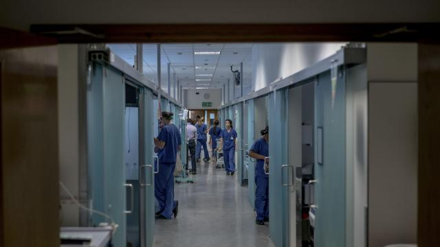 FILE-- The renowned liver unit at King's College Hospital in London, Oct. 13, 2017. British medical authorities acknowledged on Nov. 19, 2018, that they were checking the credentials of some 3,000 foreign physicians, after one was convicted of fraud and accused of falsifying qualifications. (Andrew Testa for The New York Times)
