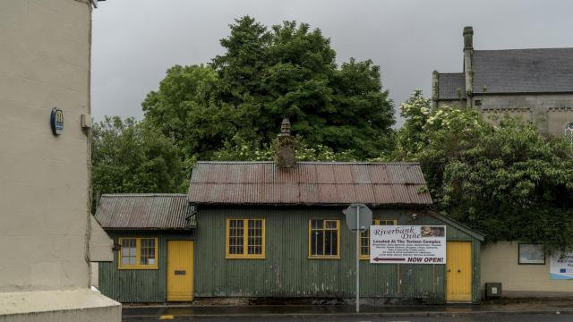FILE — An abandoned customs post near the border of Ireland and Northern Ireland that runs through the town of Pettigo, June 14, 2016.Under a formal divorce pact reached Nov. 25, 2018, between Prime Minister Theresa May of Britain and the other 27 European Union members, Northern Ireland will be part of the United Kingdom and Ireland will remain in the EU. (Andrew Testa/The New York Times)