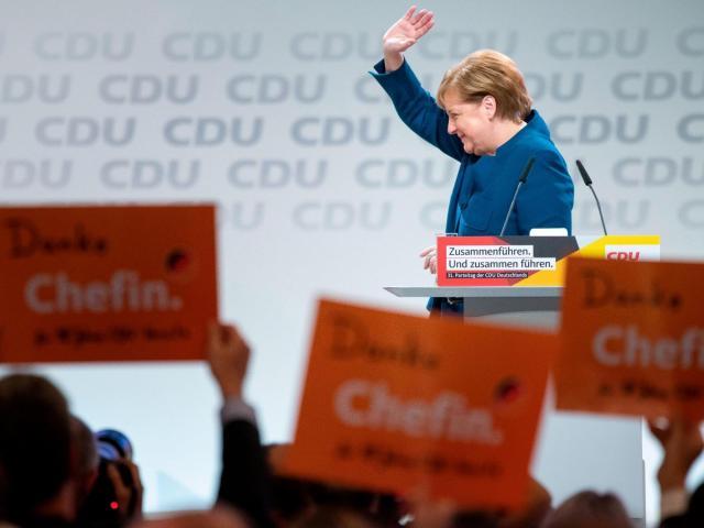 Annegret Kramp-Karrenbauer, a Merkel protege, elected as leader of Germany's ruling party
