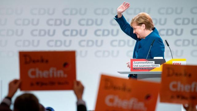 Annegret Kramp-Karrenbauer, a Merkel protege, elected as leader of Germany's ruling party