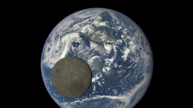 In an image provided by NASA Goddard, an animation's still frame shows the moon illuminated by the sun, captured by NASA's Deep Space Climate Observatory satellite. China is aiming to go where no one has gone before: the far side of the moon. A rocket carrying the Chang'e-4 lunar lander is to blast off on Dec. 8, 2018, from Xichang Satellite Launch Center in southern China. (In the United States, it will still be midday Dec. 7 — 1:15 p.m. Eastern time.) (NASA Goddard via The New York Times) -- FOR EDITORIAL USE ONLY. --