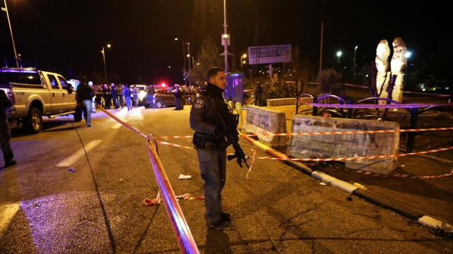 Critically wounded woman in West Bank attack was pregnant; baby 'stable' after labor induced