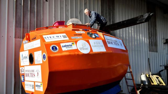 Frenchman to float across the Atlantic -- in a barrel