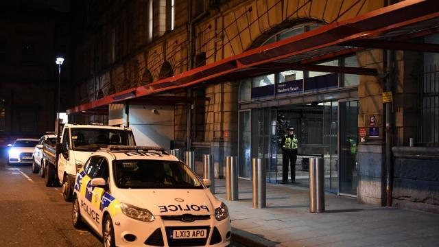 Manchester stabbing: UK counter-terrorism police launch investigation after three attacked