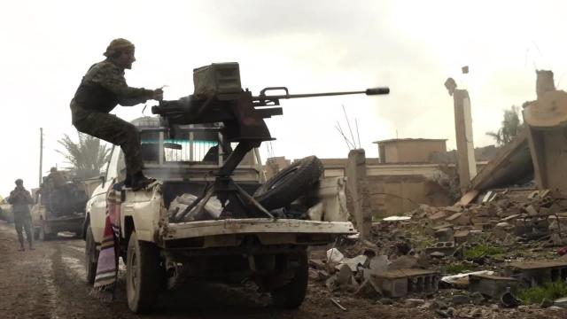Fighting escales as ISIS clings to its last Syria enclave. (CNN)