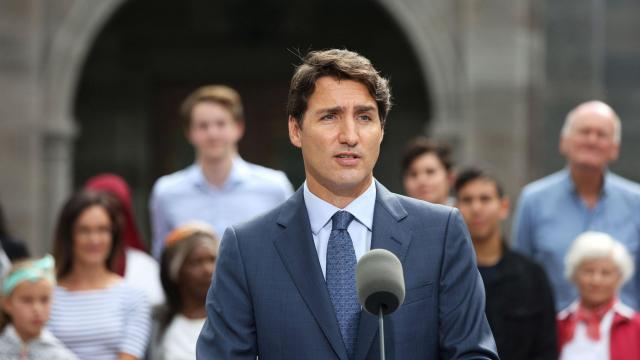 Justin Trudeau's Liberal Party projected to win Canada's general election