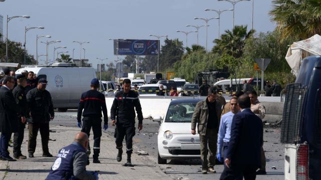 One dead in suicide bomb attack near US embassy in Tunisia