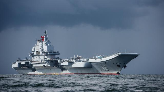 Chinese state media claims country's navy is not affected by coronavirus