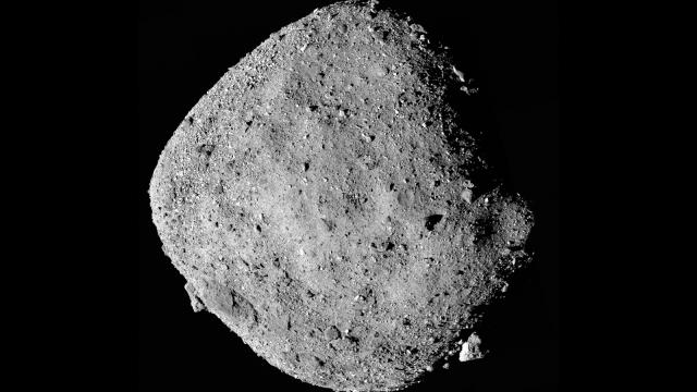 NASA mission has successfully touched down on asteroid Bennu