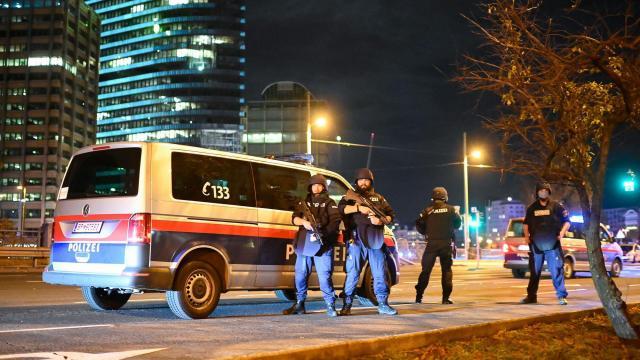 Multiple shootings in Vienna 'terror attack'