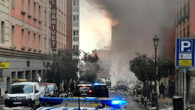 3 dead, several injured in Madrid as explosion rocks Spanish capital