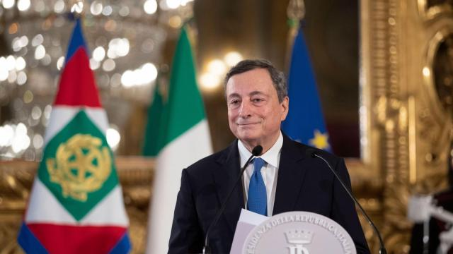 Mario Draghi is named Italy's new prime minister, announces a political rainbow of cabinet picks
