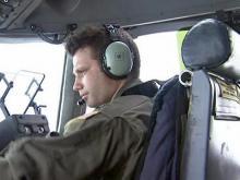 Pope Air Force crew drops supplies to Haiti