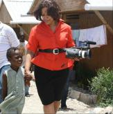 Pam Saulsby took her camera to check on the progress of recovery in Haiti 18 months after a devastating earthquake rocked the island nation.