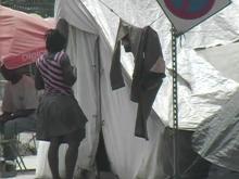 Haiti tent city, Haiti earthquake