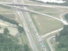 Fatal Crash Snarls I-95 in Johnston