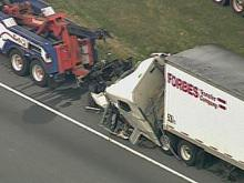 WEB ONLY: Sky 5 Coverage of I-95 Wreck