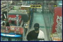 Surveillance footage shows a suspect in a string of armed robberies at Raleigh convenience stores. Police believe seven robberies and two attempted robberies that have occurred since June 3 are related.