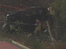 Sky5 Video: Car Overturns on N.C. Highway 98