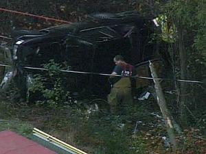 David Rigsbee lost control of his car on N.C. Highway 98, the Highway Patrol said.
