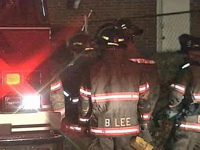 Durham firefighters battled a blaze at a duplex in the 1200 block of Washington Street on Friday, Nov. 23.