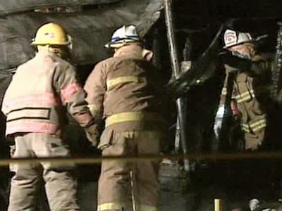 Authorities say one person died Tuesday morning in a house fire in Sanford.
