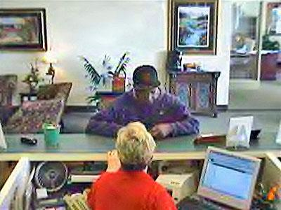 Wake Forest police are seeking the public's help in indentifying this man, who they believe robbed Capital Bank, 12217 Capital Blvd., on Thursday, Dec. 13, 2007.