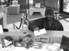 Police said they were seeking this man Wednesday, Dec. 19, 20-07, in a robbery at an RBC Centura branch at 4000 Capital Blvd.