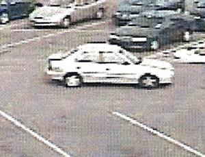 Car driven by a man police want to question about the death of Lori A. Beaudry, whose body was found in her Fayetteville apartment on Nov. 6, 2007.