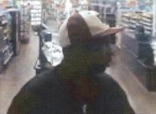 Surveillance video at the Ramsey Street Wal-Mart store caught pictures of a man police want to question about the death of Lori A. Beaudry, whose body was found in her Fayetteville apartment on Nov. 6, 2007.