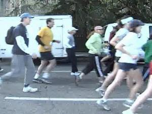 Runners took part in a race Saturday in honor of a student killed in an alcohol-related crash.