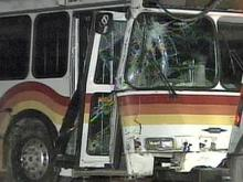 City Bus and Car Collided in Raleigh