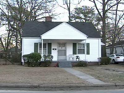 A toddler was shot Saturday, Feb. 2, 2008, at 829 South Tillery St. in Rocky Mount.