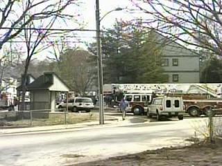 Firefighters responded to the Brookside Apartments at about 11:30 a.m. Monday, Feb. 4, 2008.