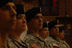 A farewell ceremony for the 382nd Public Affairs Detachment (PAD), North Carolina Army National Guard, was held Feb. 29 at the Military Center in Raleigh.