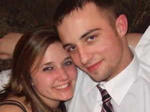 Matthew Kraft, seen here in this undated photo with his girlfriend, Michelle Dixon, was killed in the early morning of March 1, 2008, on Rock Quarry Road in Raleigh. Dixon, who was in the car with him at the time, was not seriously injured. (Photo courtesy of Michelle Dixon)